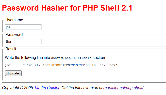 how to write a php script in linux