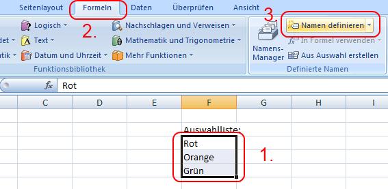 how to create drop down column word 2007